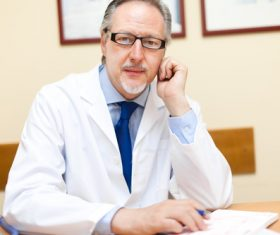 Medical professor Stock Photo 01