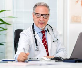 Medical professor Stock Photo 03