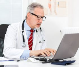 Medical professor Stock Photo 08