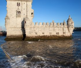 Morning at Belem Tower in Lisbon Stock Photo 10