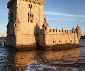 Morning at Belem Tower in Lisbon Stock Photo 13