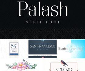 Palash Serif Font