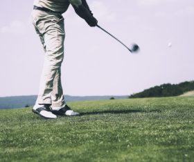 Playing Golf Stock Photo 01