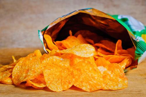 Potato chips Stock Photo 02