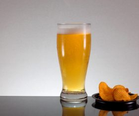Potato chips beer snack Stock Photo 11