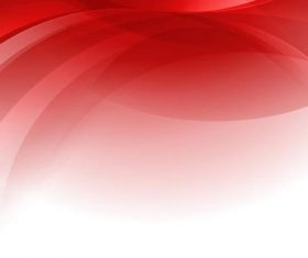 Red abstract wavy background art vector 02