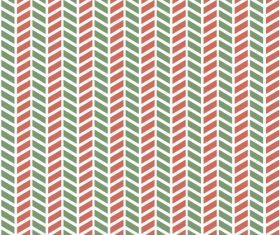 Red with green shapes patterns seamless vectors 01