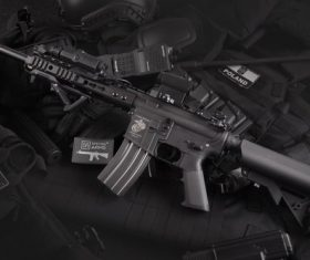 Special police equipment Stock Photo