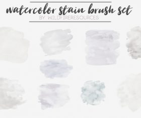 Stain Photoshop Brushes