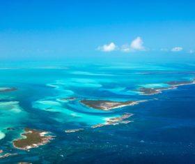 Stock Photo Bahamas blue ocean 01