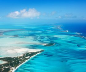 Stock Photo Bahamas blue ocean 03
