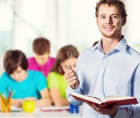 Teachers and students Stock Photo 08