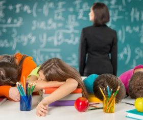Teachers and students Stock Photo 10