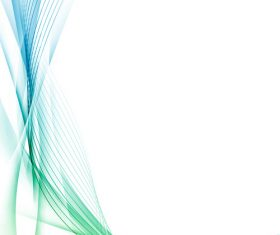 Three-dimensional line waves abstract vector 04