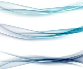 Three-dimensional line waves abstract vector 08