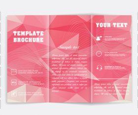 tri fold brochure template design vectors 04 free download