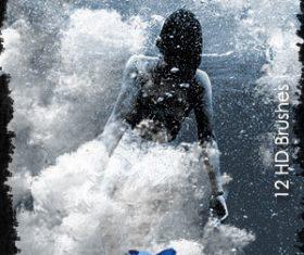 Underwater Effect Photoshop Brushes