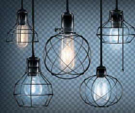 Vector light bulb illustration 01