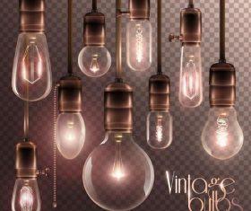 Vector light bulb illustration 02