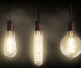 Vector light bulb illustration 03