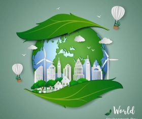 World environment day poster vector
