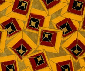 Yellow Square Embossed pattern Stock Photo