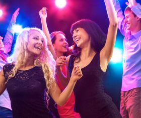 Young people in nightclub party Stock Photo 03