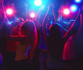 Young people in nightclub party Stock Photo 04