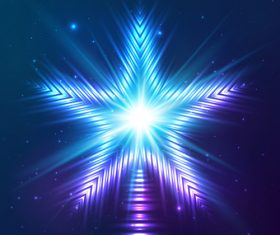 cosmic star light background vector material
