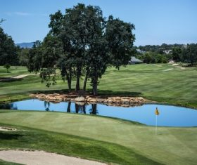 golf course Stock Photo 04