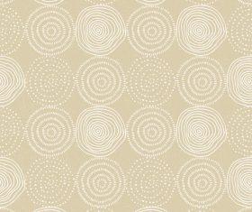 round seamless pattern hand drawn vector 01