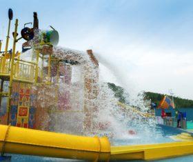 water park Stock Photo