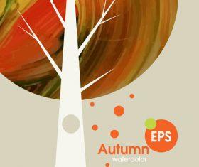 Abstract autumn background design vectors 03