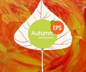 Abstract autumn background design vectors 04