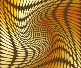 Abstract golden dot background art vector