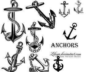 Anchors Photoshop Brushes