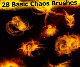 Basic Chaos Photoshop Brushes