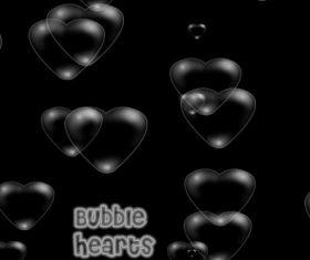 Bubble Heart Photoshop Brushes