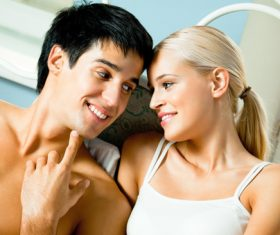 Cheerful Couple Stock Photo 04