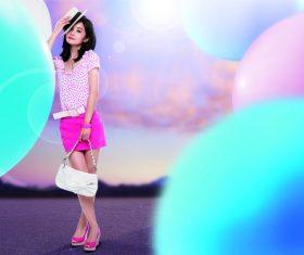 Clothing model Stock Photo