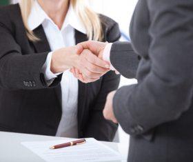 Cooperation successful handshake Stock Photo 02