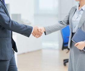Cooperation successful handshake Stock Photo 03