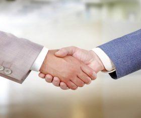 Cooperation successful handshake Stock Photo 05