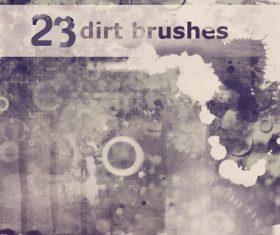 Dirt Photoshop Brushes