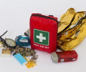 Field survival kit Stock Photo 02