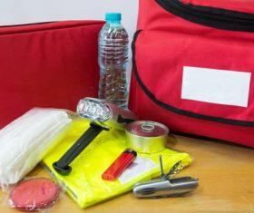 Field survival kit Stock Photo 03
