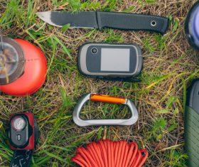 Field survival kit Stock Photo 04