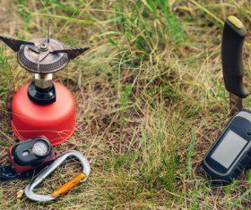 Field survival kit Stock Photo 05