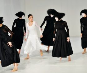 Graceful ballet performance Stock Photo 04
