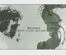 Grunge Paint Photoshop Brushes set